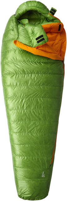 Mountain Hardwear Phantom Flame Sleeping Bag Regular Cyber Grön